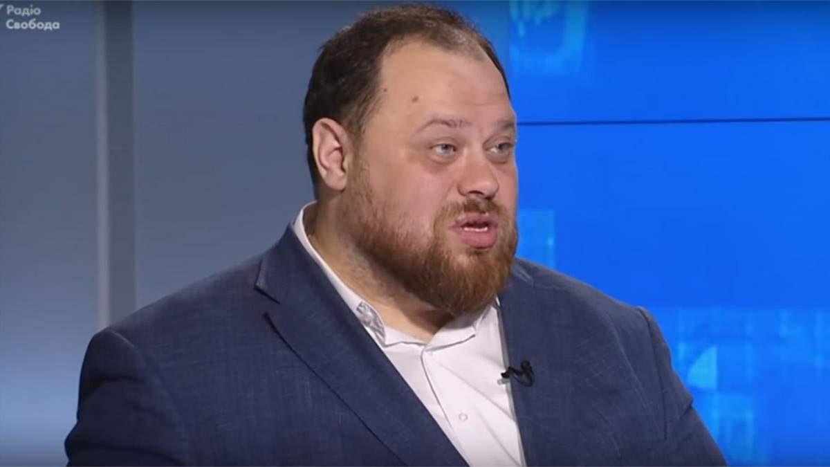 Стефанчук розповів, які питання можна виносити на референдум