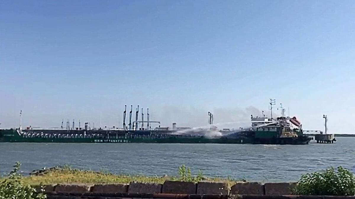 Вибух на танкері в Росії: є жертви - причини вибуху 11 червня 2019