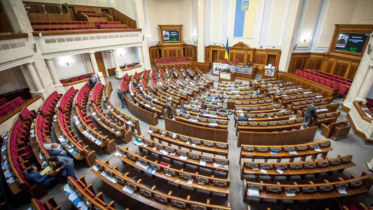 Партії завершили висувати своїх кандидатів у народні депутати