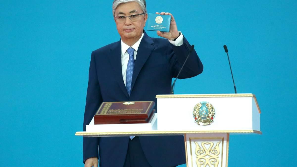 Новоизбранный президент Казахстана Токаев принес присягу
