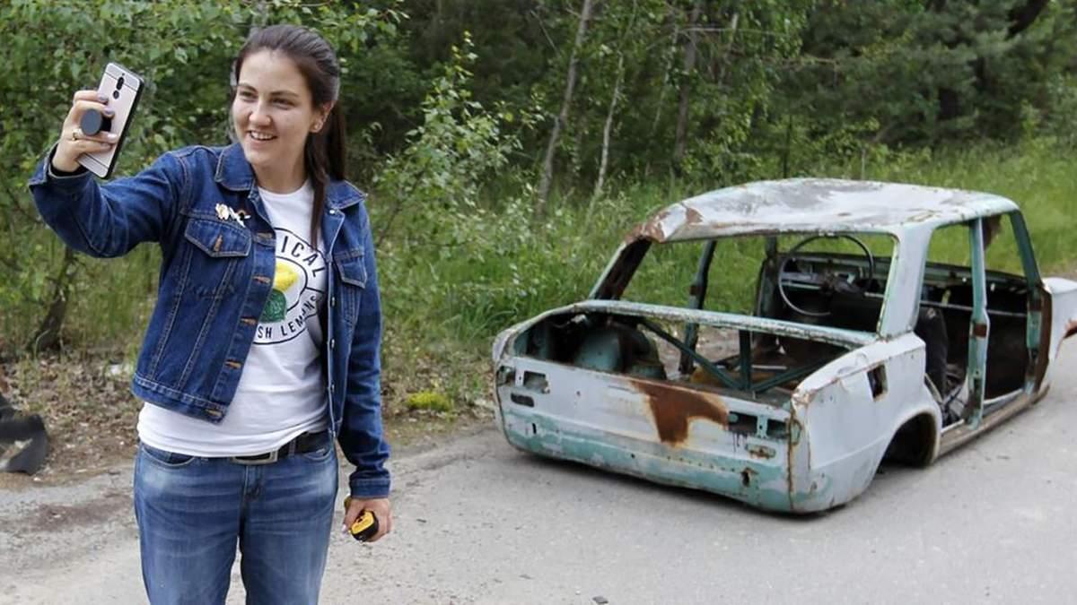 Неуместные фото в Чернобыле