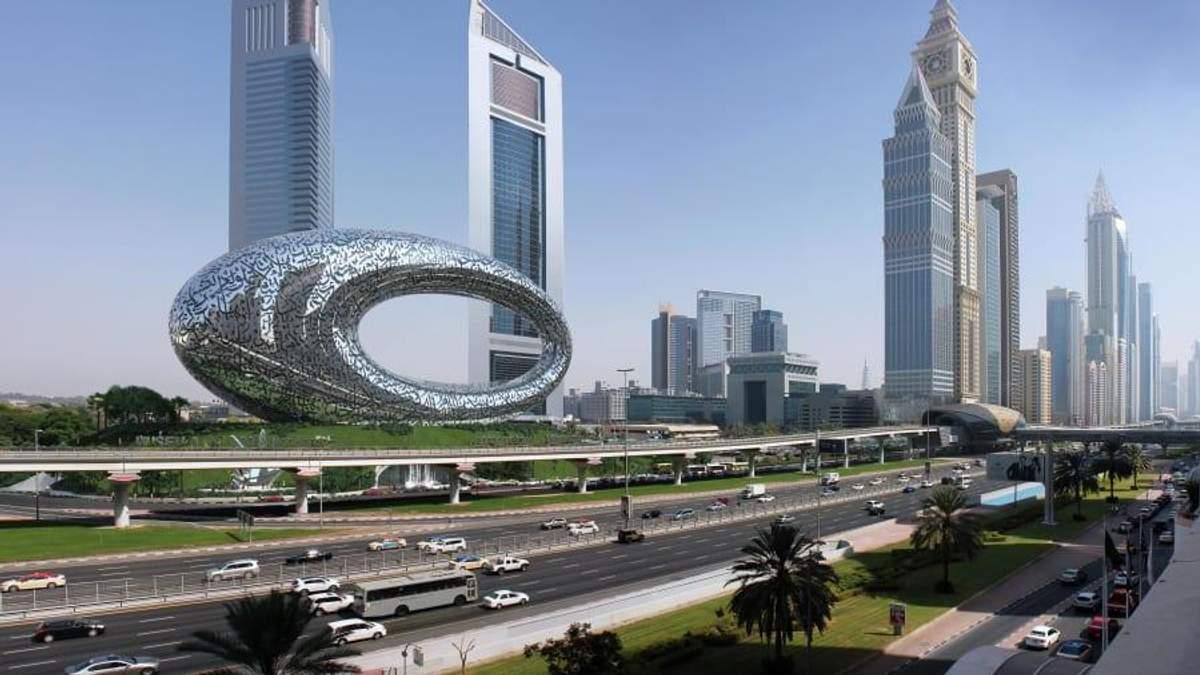 Музей майбутнього добудовують в Дубаї
