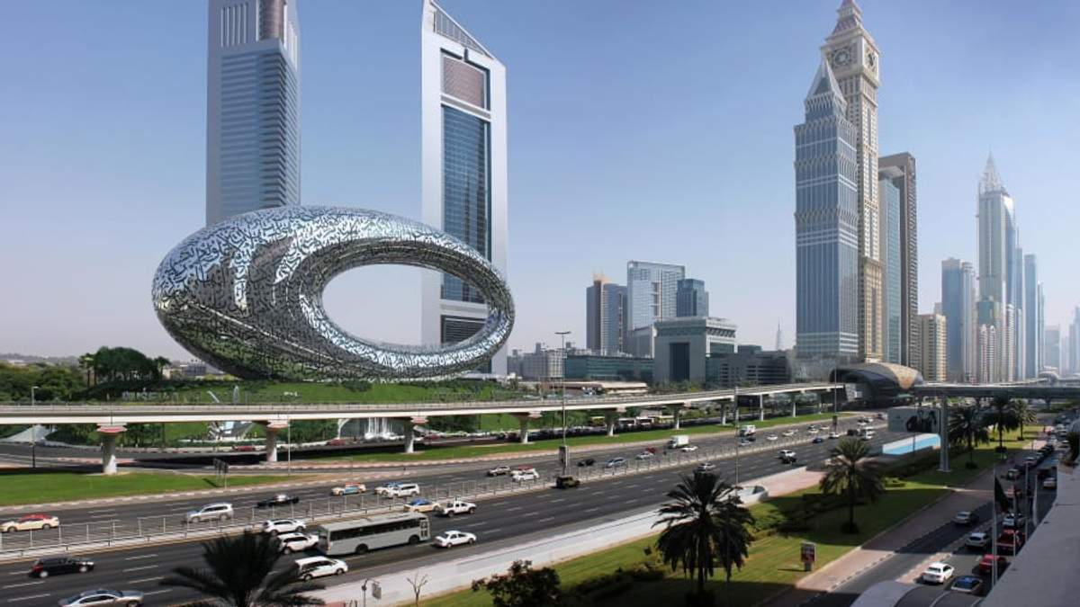 Музей будущего достраивают в Дубае