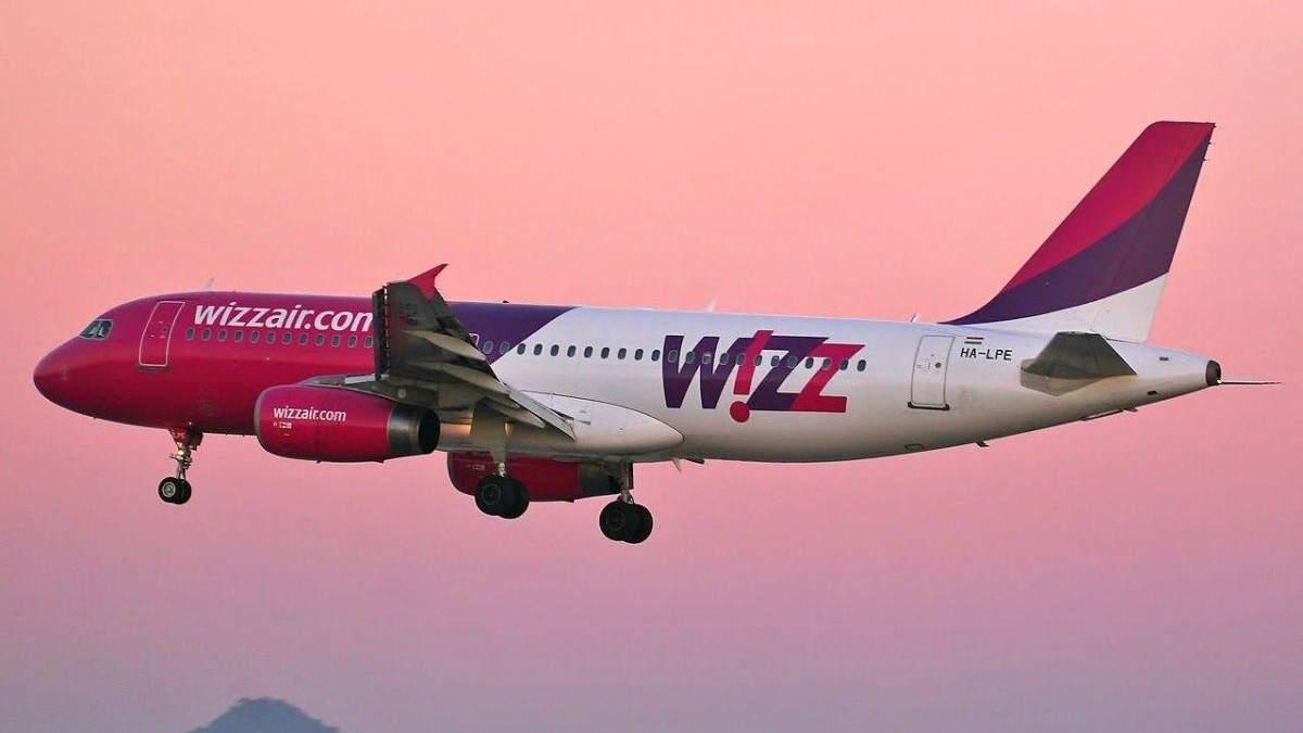 """Лоукостер Wizz Air збільшить частоту рейсів з аеропорту """"Львів"""" до Словаччини, Польщі, Німеччини"""