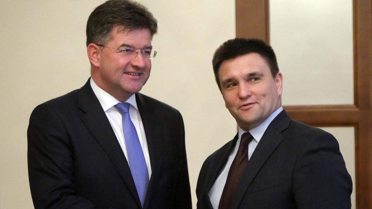 Клімкін та Лайчак обговорили співпрацю України та ОБСЄ