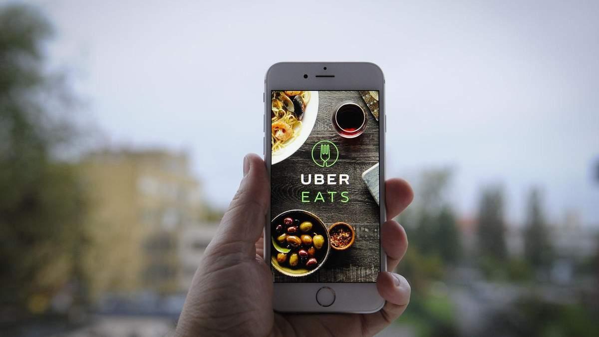 Uber буде доставляти їжу на дронах