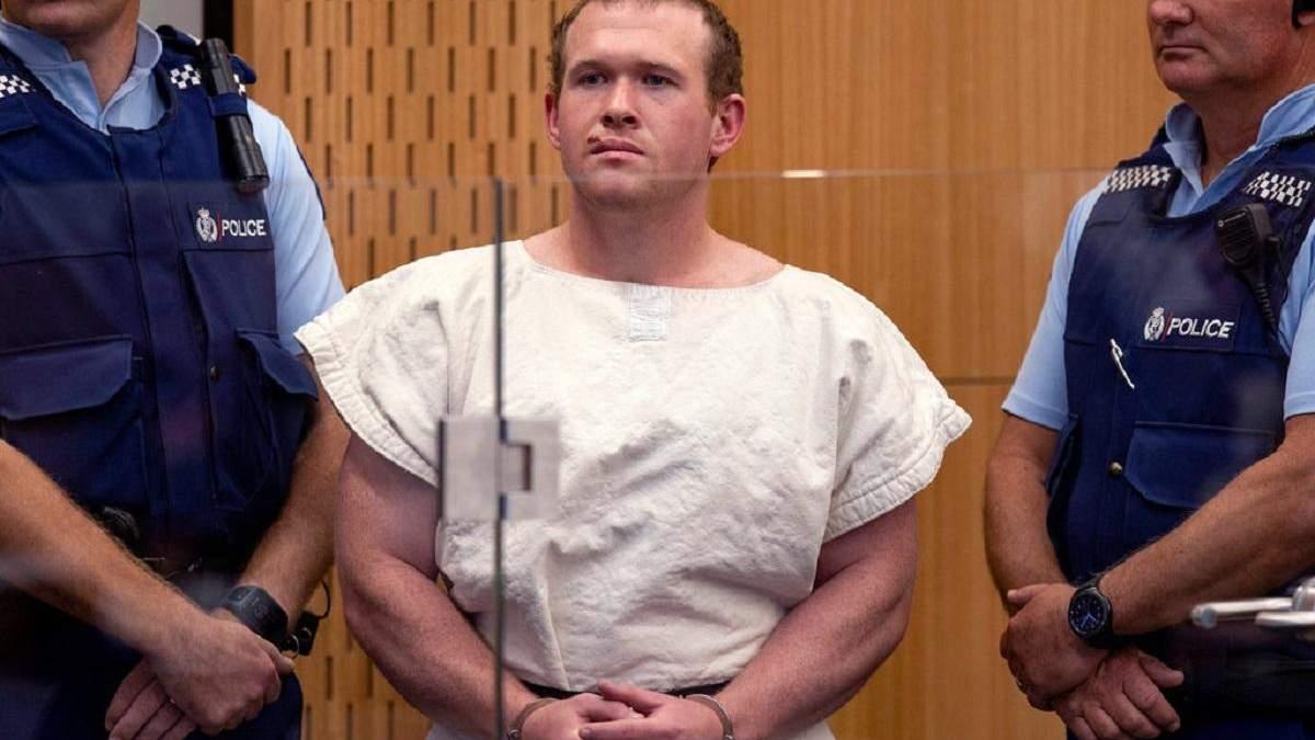 Обвиненный в убийстве 51 человека Брентон Таррант
