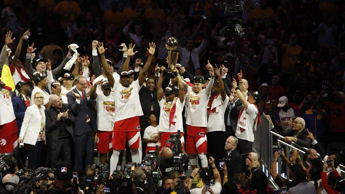 """Баскетболісти """"Торонто"""" встановили декілька рекордів НБА завдяки перемозі в чемпіонаті"""