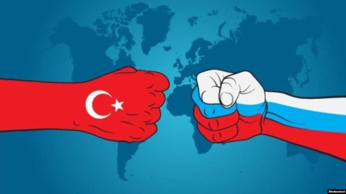 """""""Росія проти Туреччини"""""""
