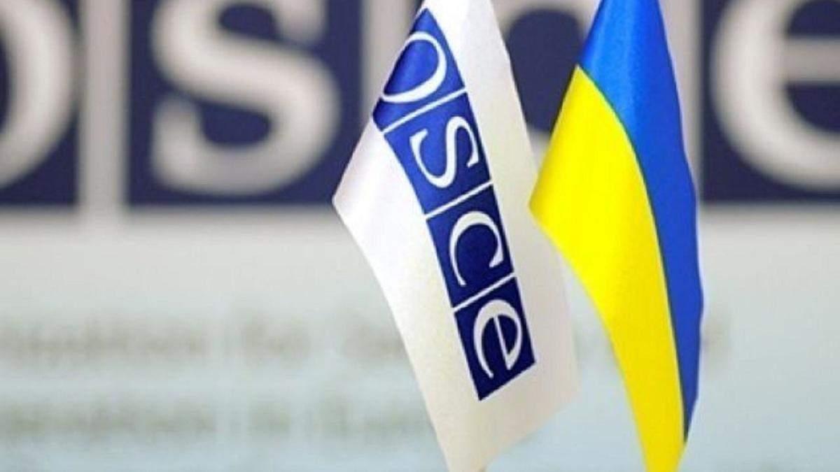 ОБСЄ передала Україні обладнання для саперів