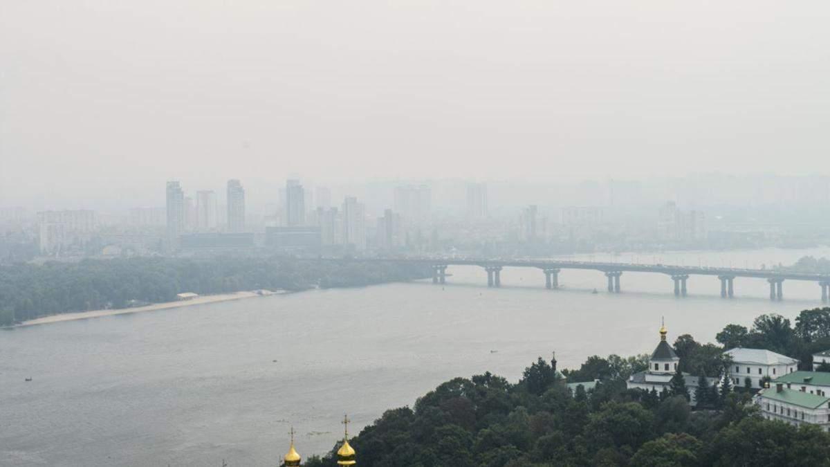 У Києві дуже високий рівень забруднення повітря
