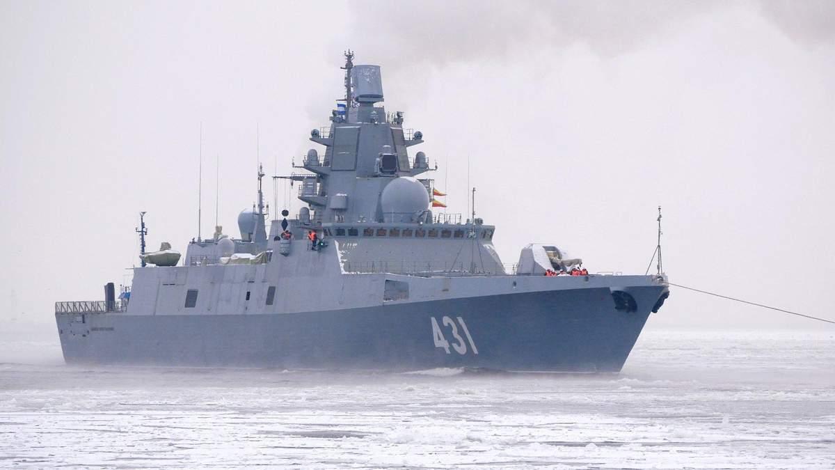 """Корабель """"Адмірал Касатанов"""""""