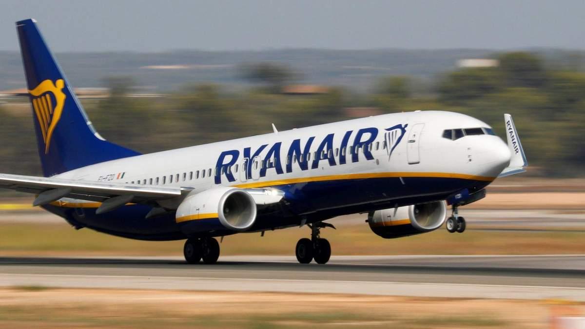 Лоукостер Ryanair збільшив кількість рейсів до Польщі