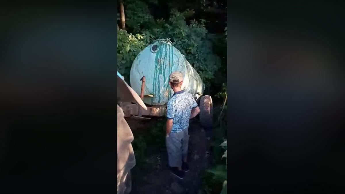 Ігуменя УПЦ МП наказала зливати нечистоти біля меморіалу загиблим українським воїнам: відео