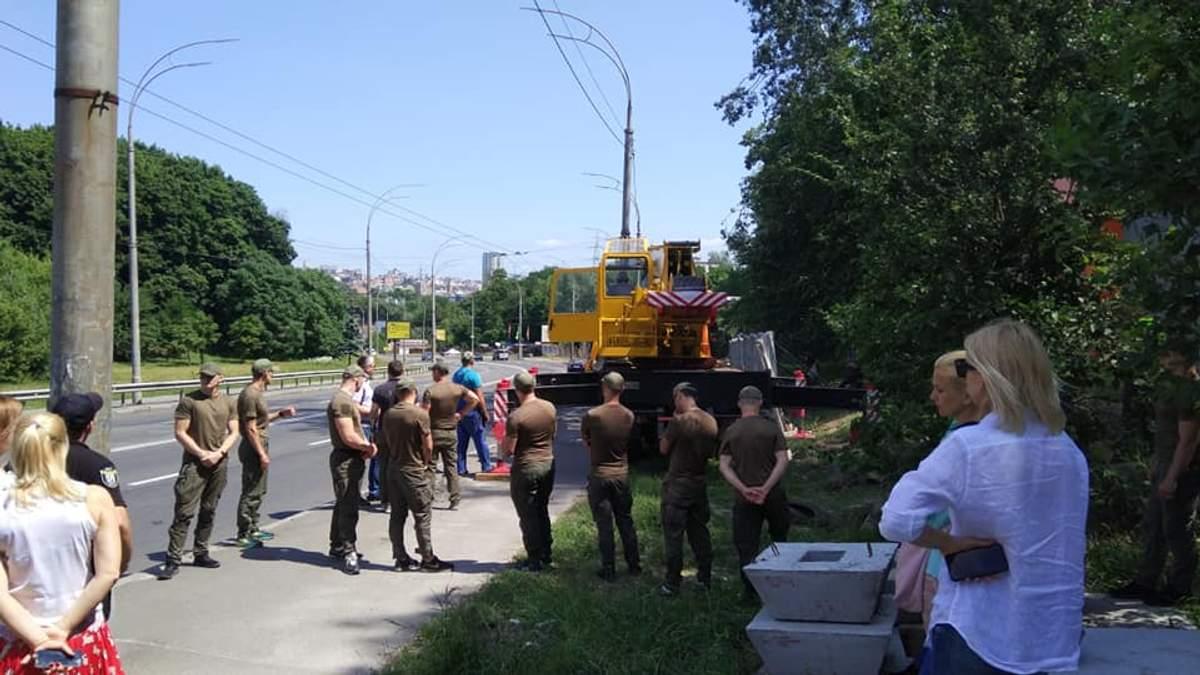 Конфлікт навколо забудови Протасового Яру у Києві