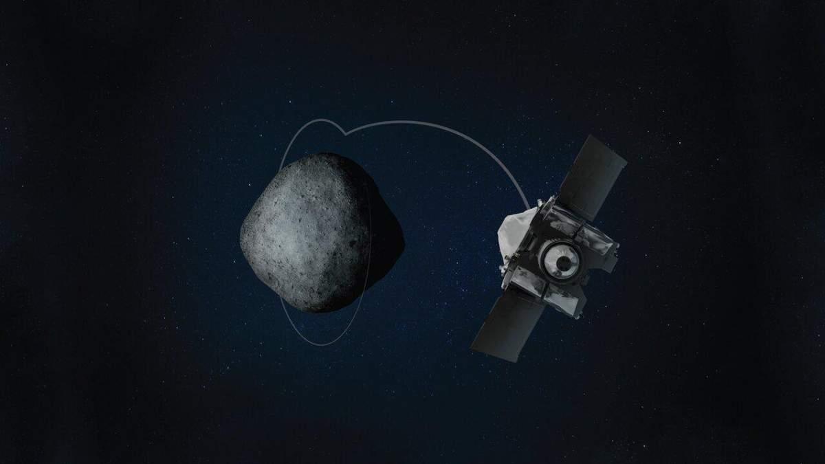 Астероид Бенну: фото