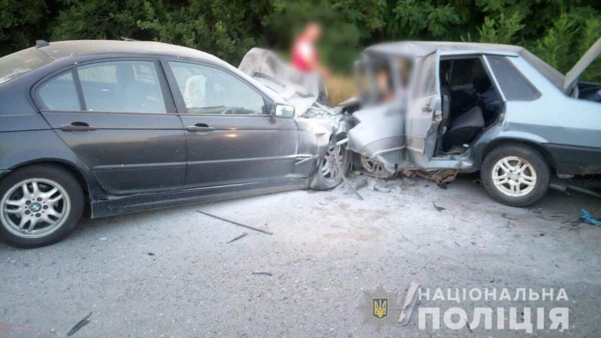 Пьяный полицейский устроил ДТП под Херсоном: погибла семья с ребенком