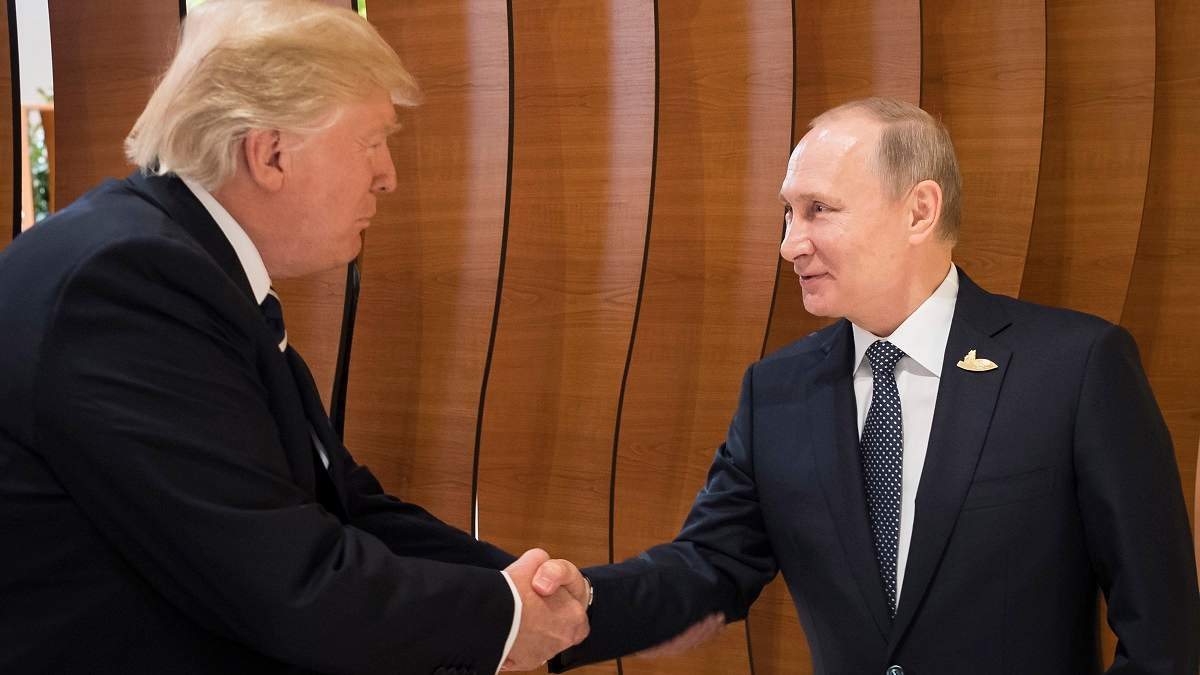 Дональд Трамп та Володимир Путін