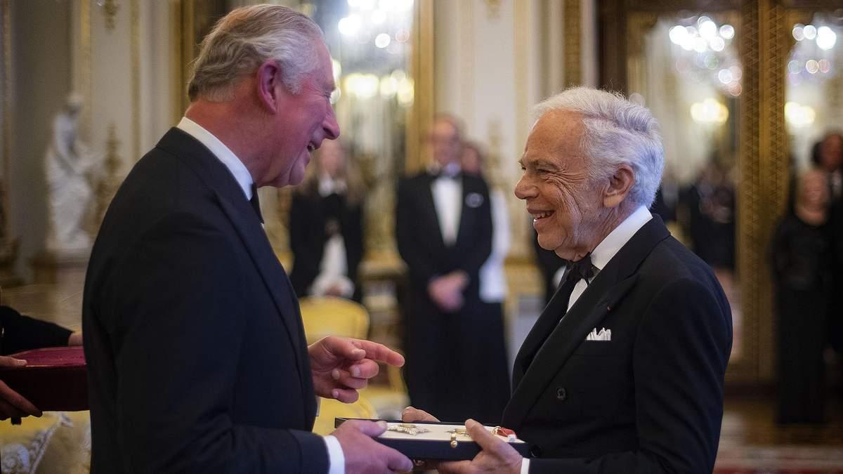 Ральф Лорен отримав орден Британської імперії