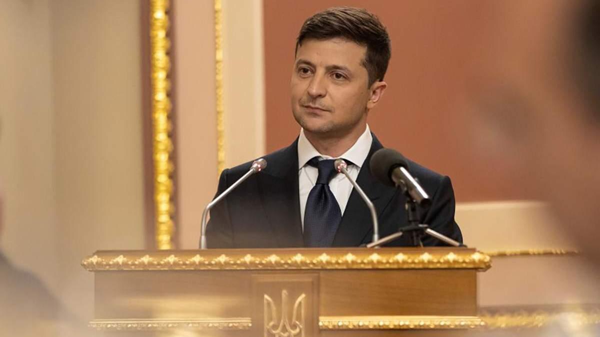 Зеленський підписав перший президентський указ