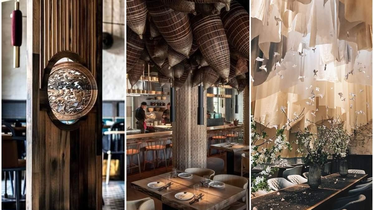 3 украинских ресторана претендуют на международную премию за дизайн: фото интерьера