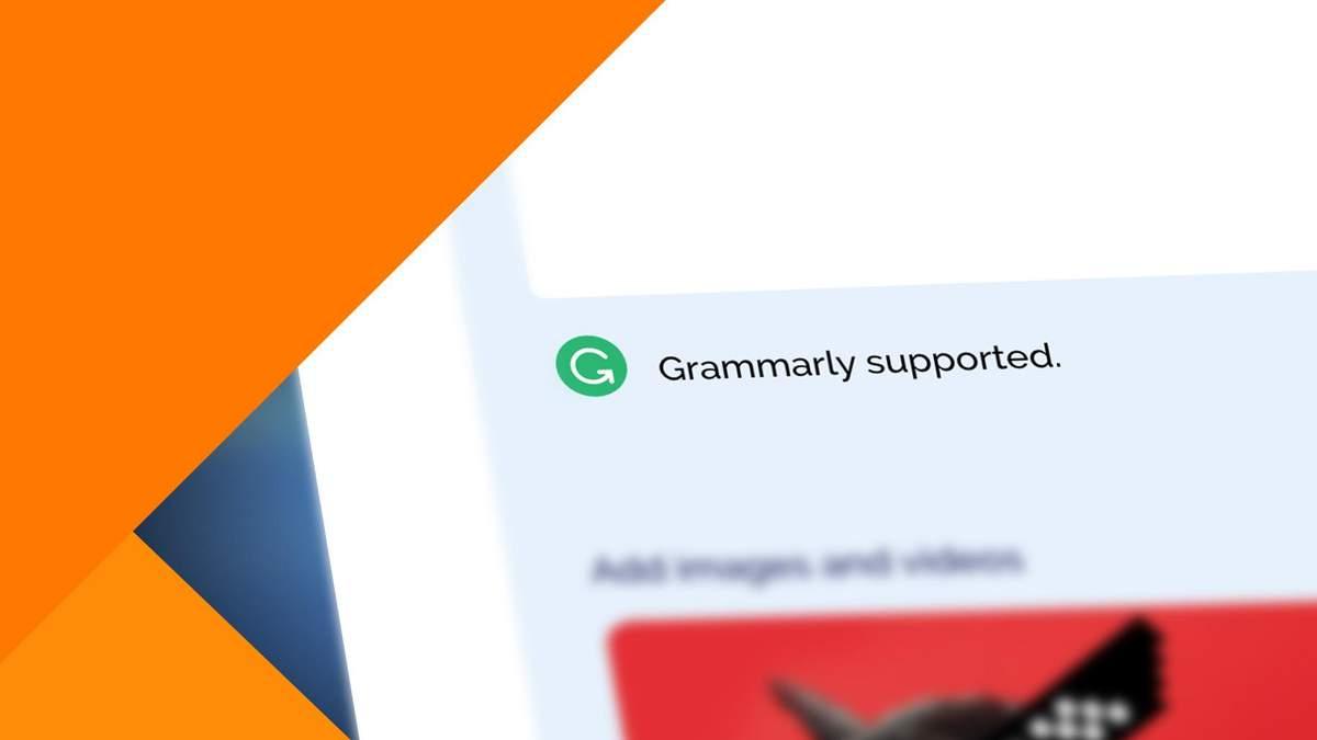 Microsoft  заборонила користуватись українським сервісом Grammarly