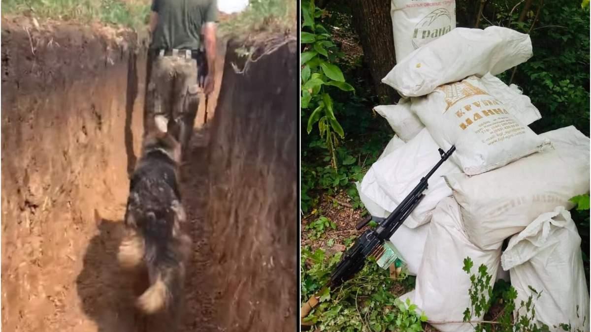 Укрепления украинских бойцов на Донбассе