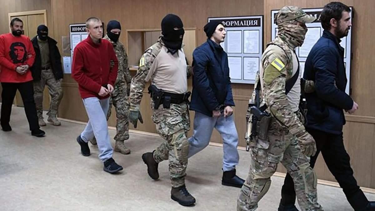 Росія висунула умову передачі Україні полонених моряків