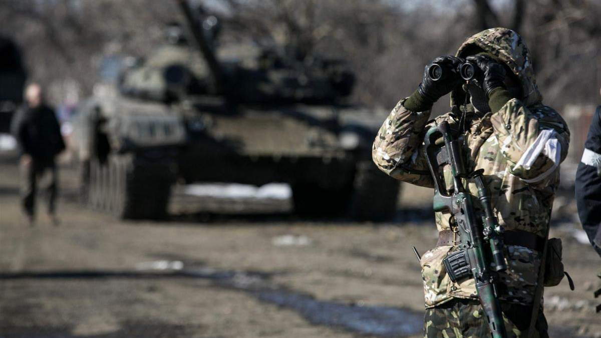 Российские оккупанты отвели войска у Станицы Луганской