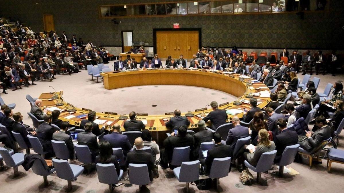Росія вдруге ініціювала засідання Радбезу ООН через закон про українську мову