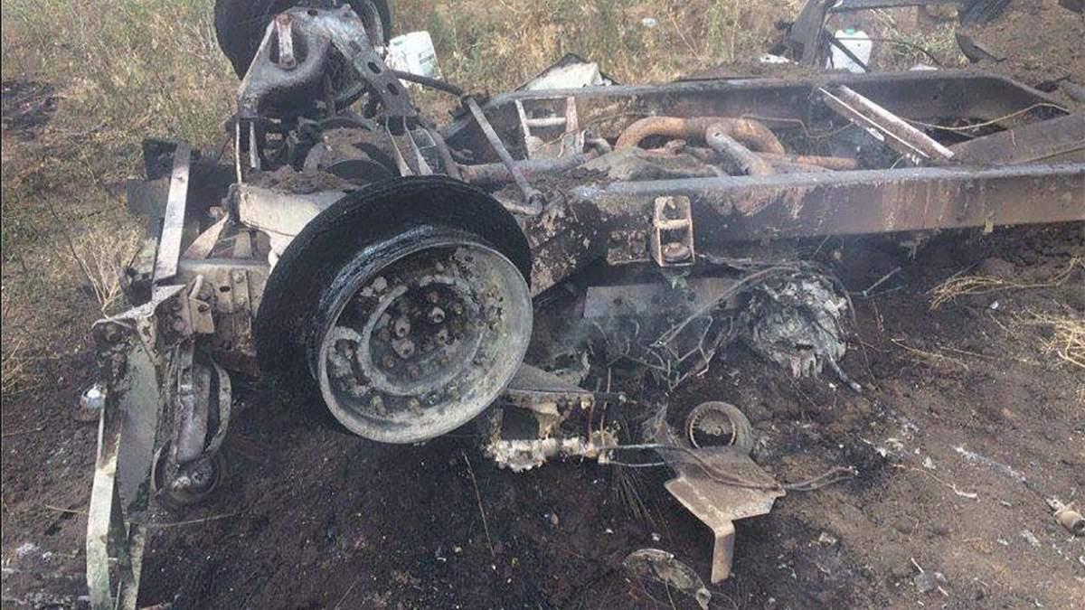 Обстріл санітарного автомобіля на Донбасі: з'явилися фото з місця трагедії