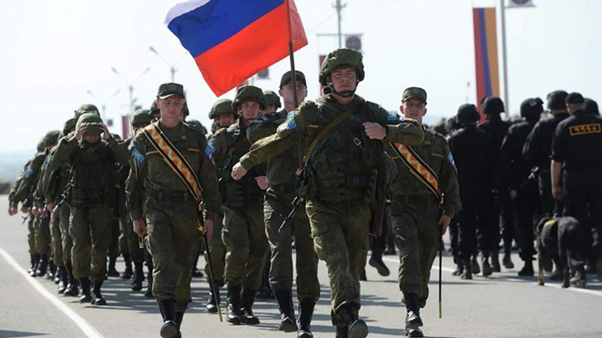 РФ увеличивает количество войск вблизи украинской границы