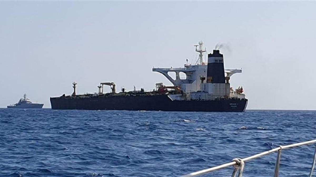 Українці є у складі екіпажу захопленого поблизу Гібралтару танкера