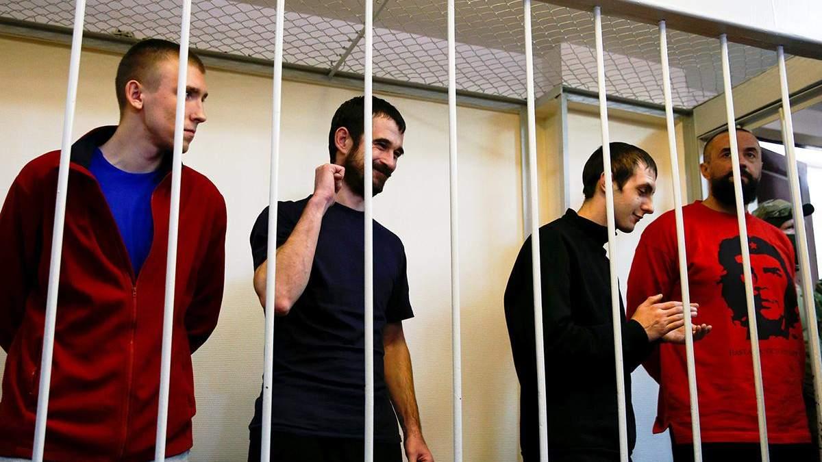 Украинские моряки верят, что скоро их освободят из российского плена