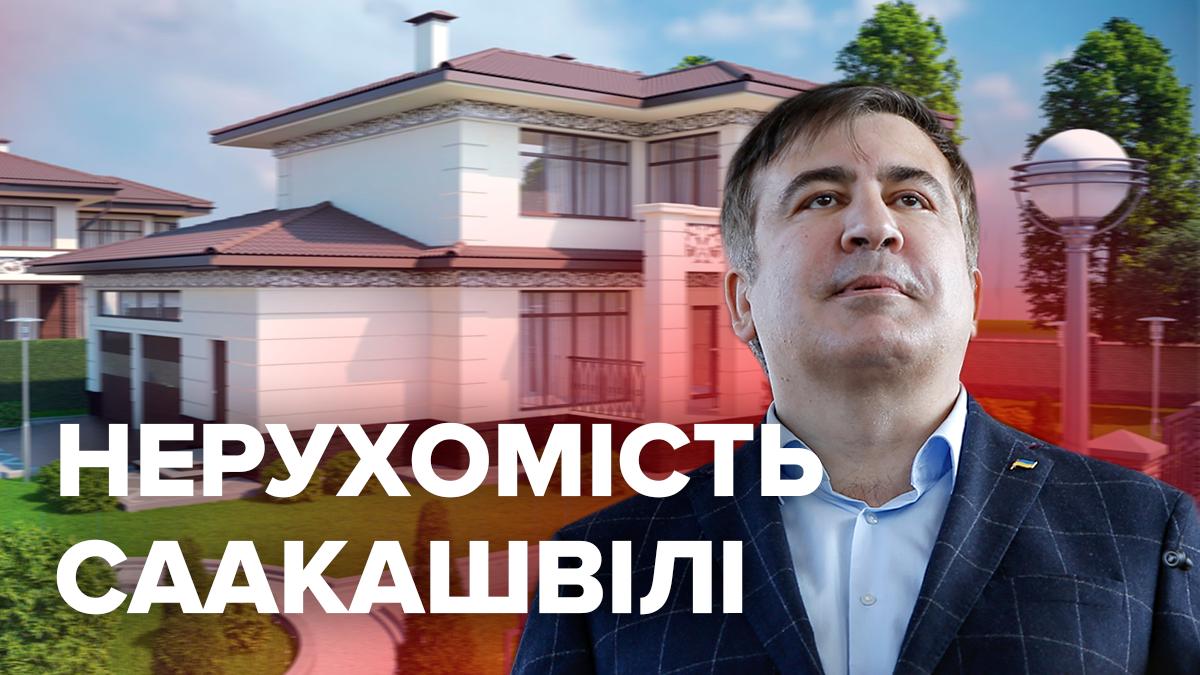 Особняк в Грузии и дом матери под Киевом: какой недвижимостью владеет Михеил Саакашвили