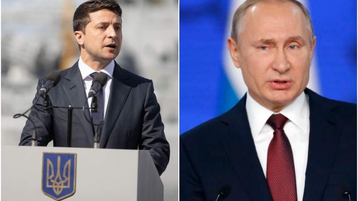 Зеленский обратился к Путину
