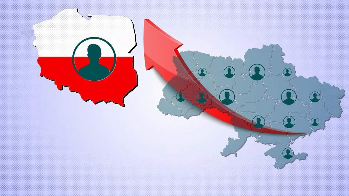 Насколько выросло количество украинских мигрантов в Польше: неожиданные цифры