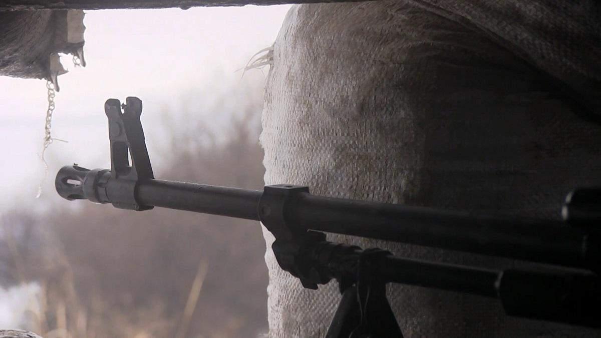 В результате обстрела оккупантов в Донбассе погиб местный житель