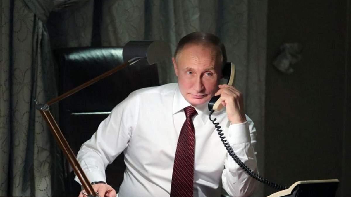 Розмова Зеленського з Путіним по телефону – деталі розмови