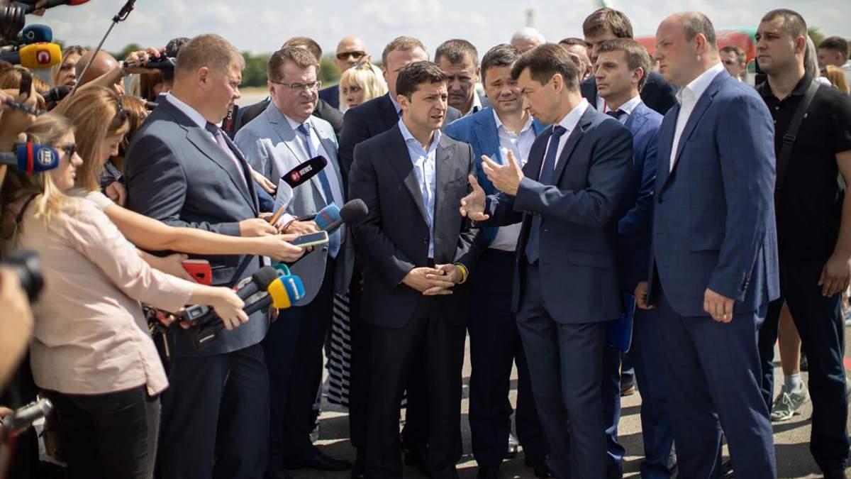 Президент в рабочей поездке посетил Днепропетровскую область