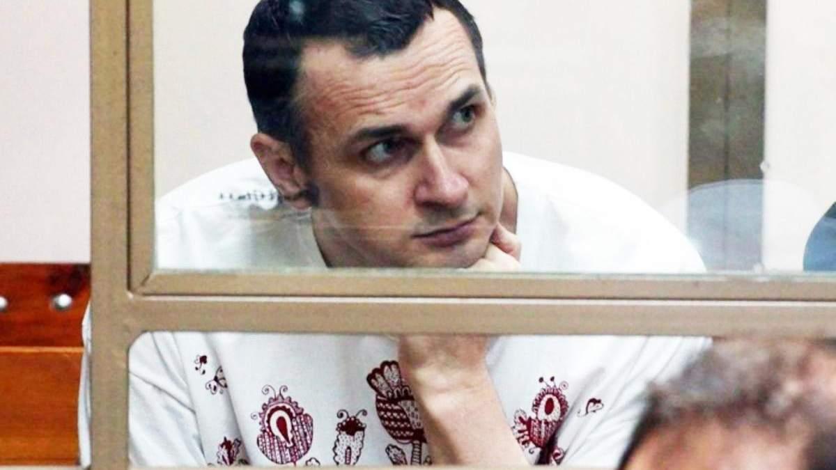Олег Сенцов проводить у колонії вже шостий день народження