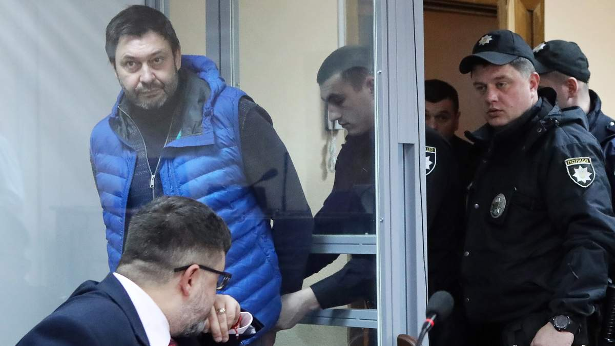 Обмен Вышинского на пленных моряков: Украина не может передать журналиста России