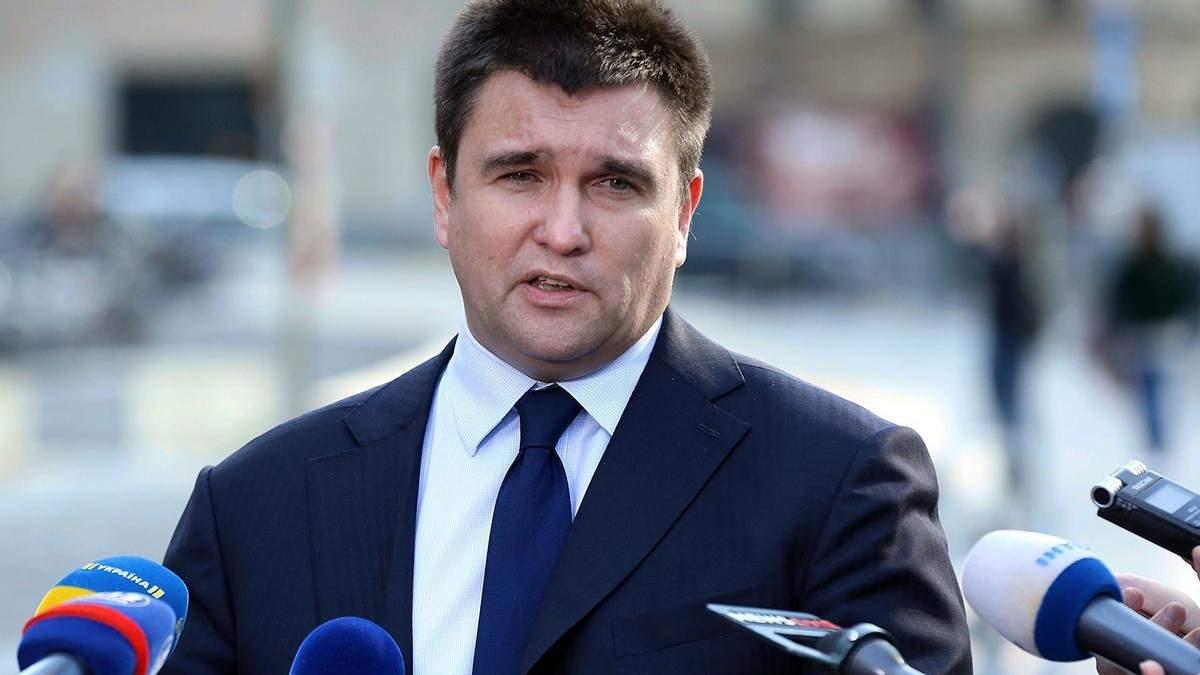 Розвиток ситуації буде, – Клімкін зробив заяву щодо звільнення українських моряків