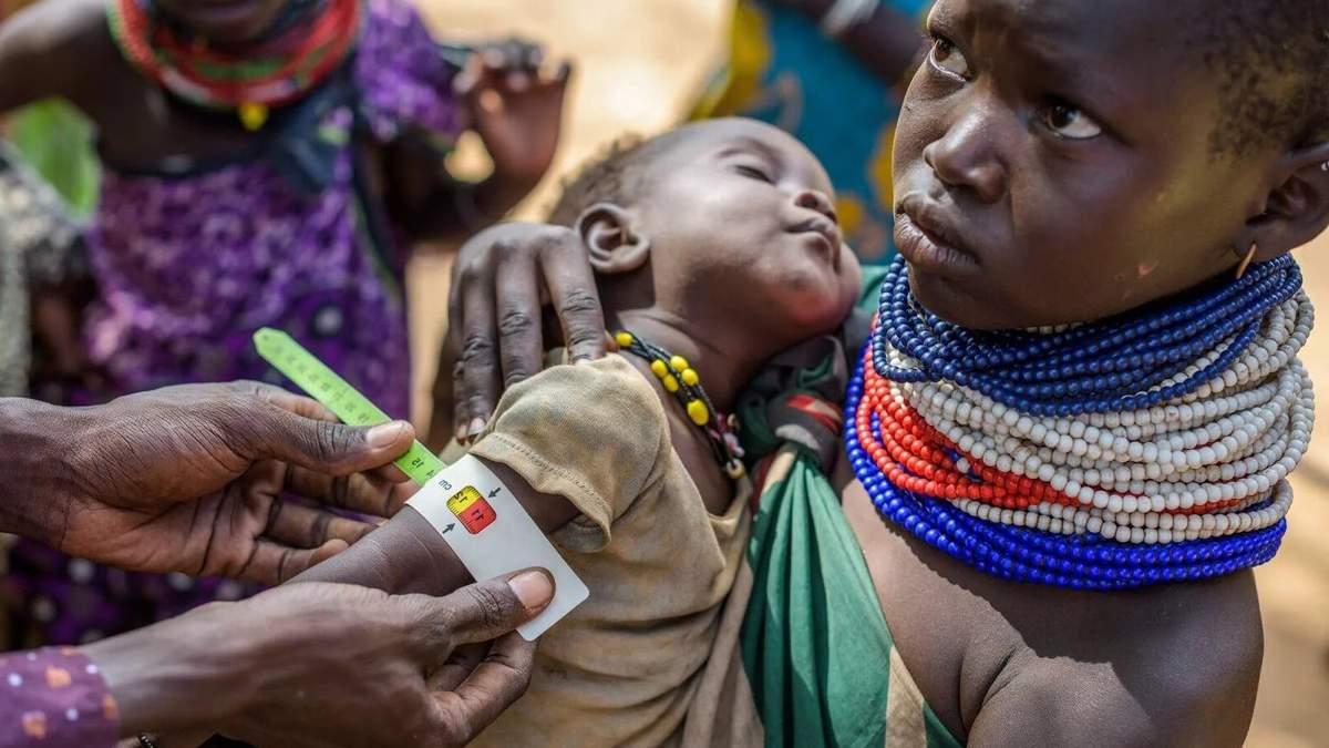 Голод в Африці