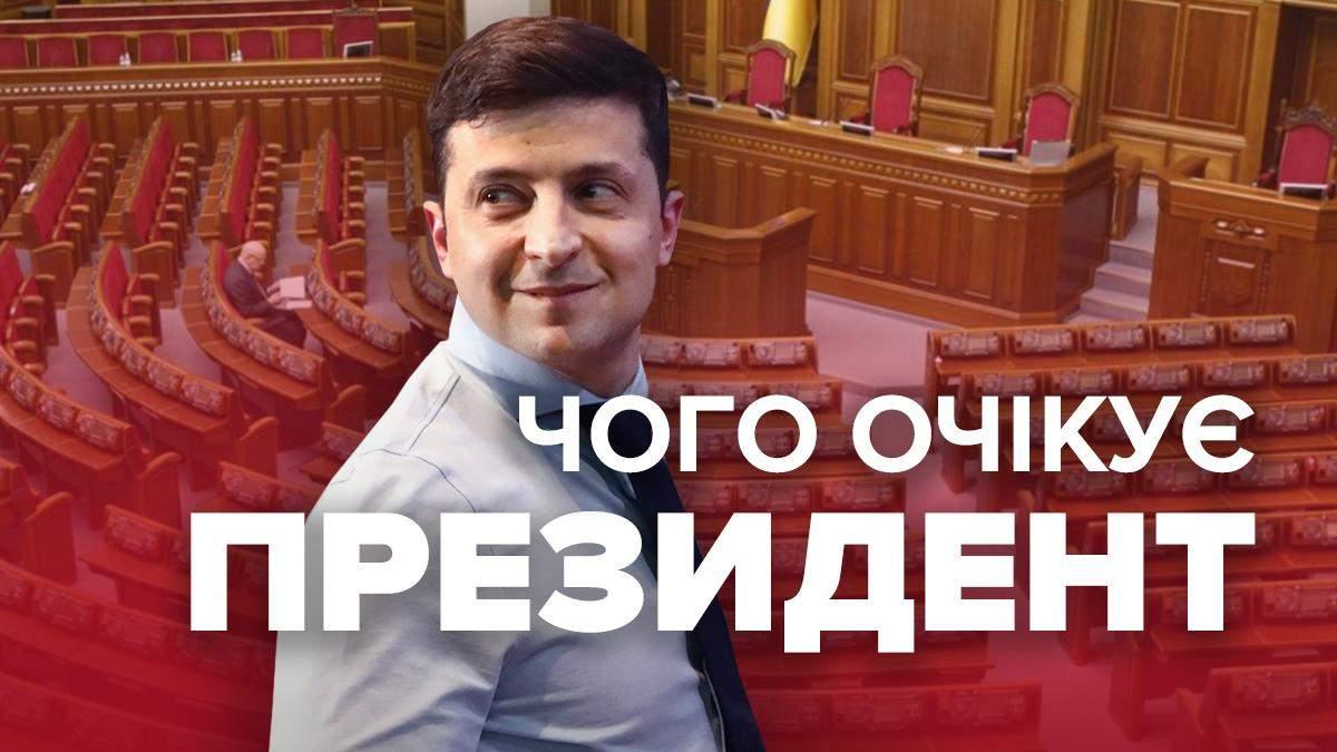 Зеленський про результати екзит-полу парламентських виборів 2019