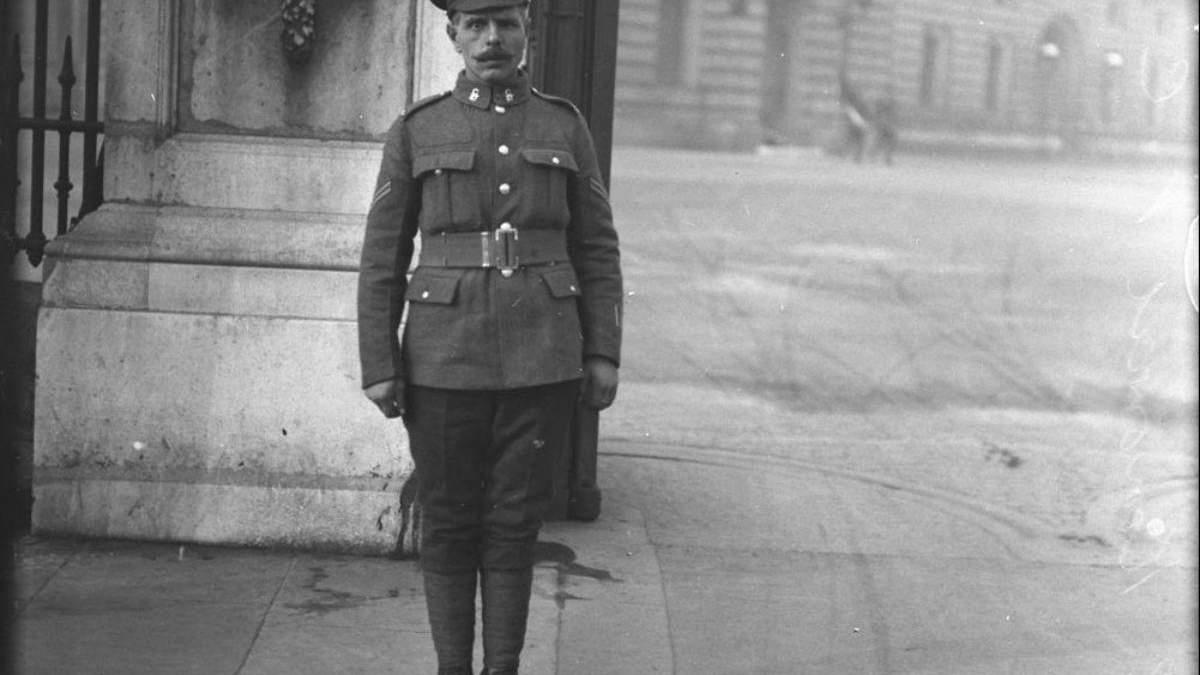 Украинец, который получил престижную награду Великобритании за свою смелость в Первой мировой