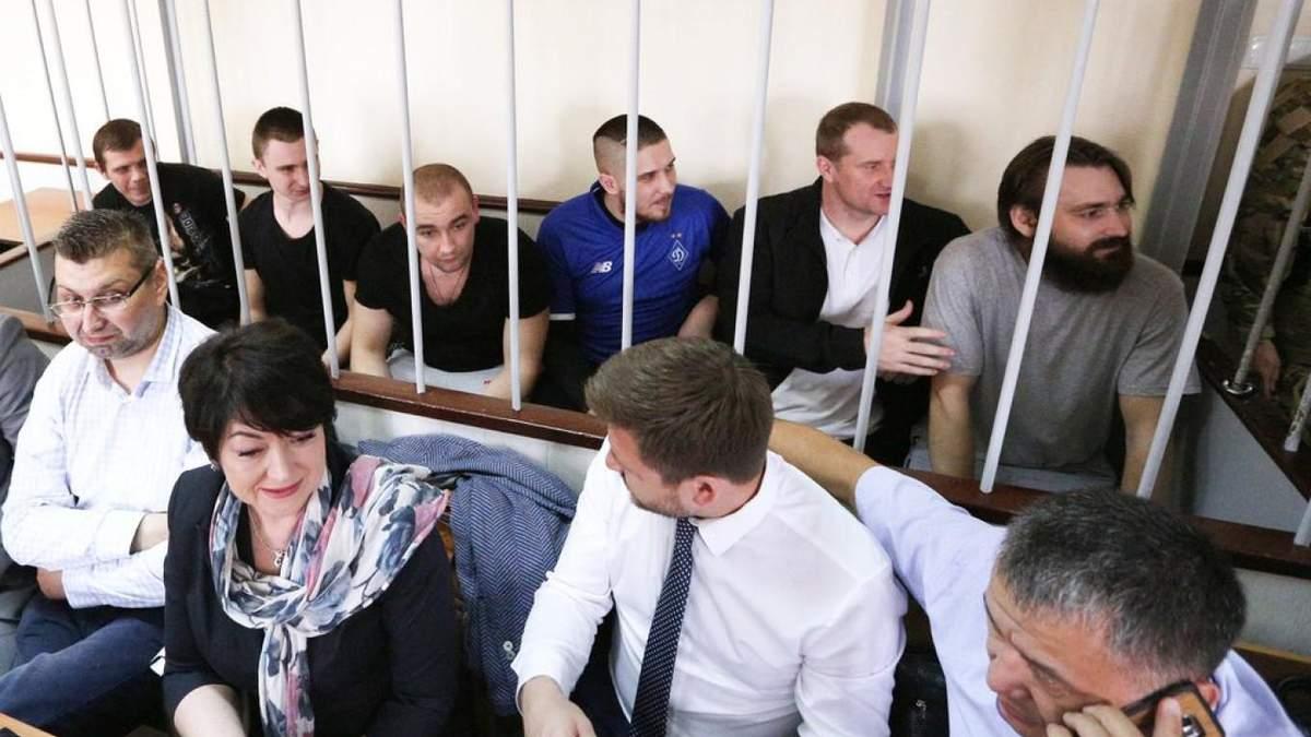 Россия может освободить моряков осенью после оглашения им приговора