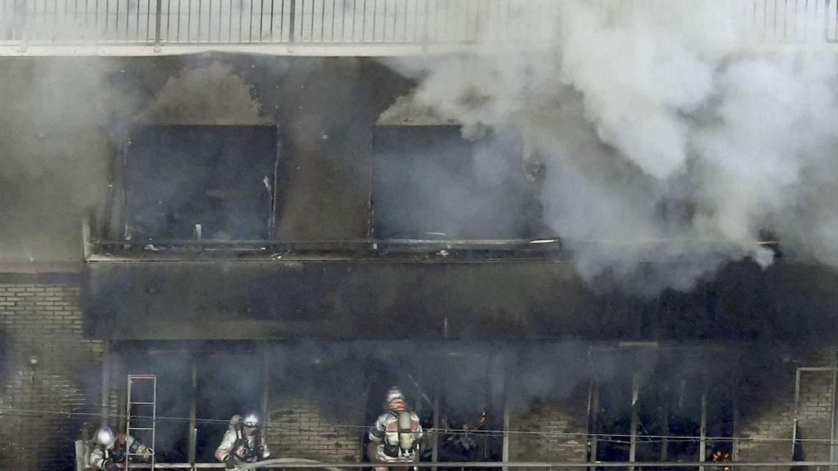 Пожар на студии аниме в Японии: детали