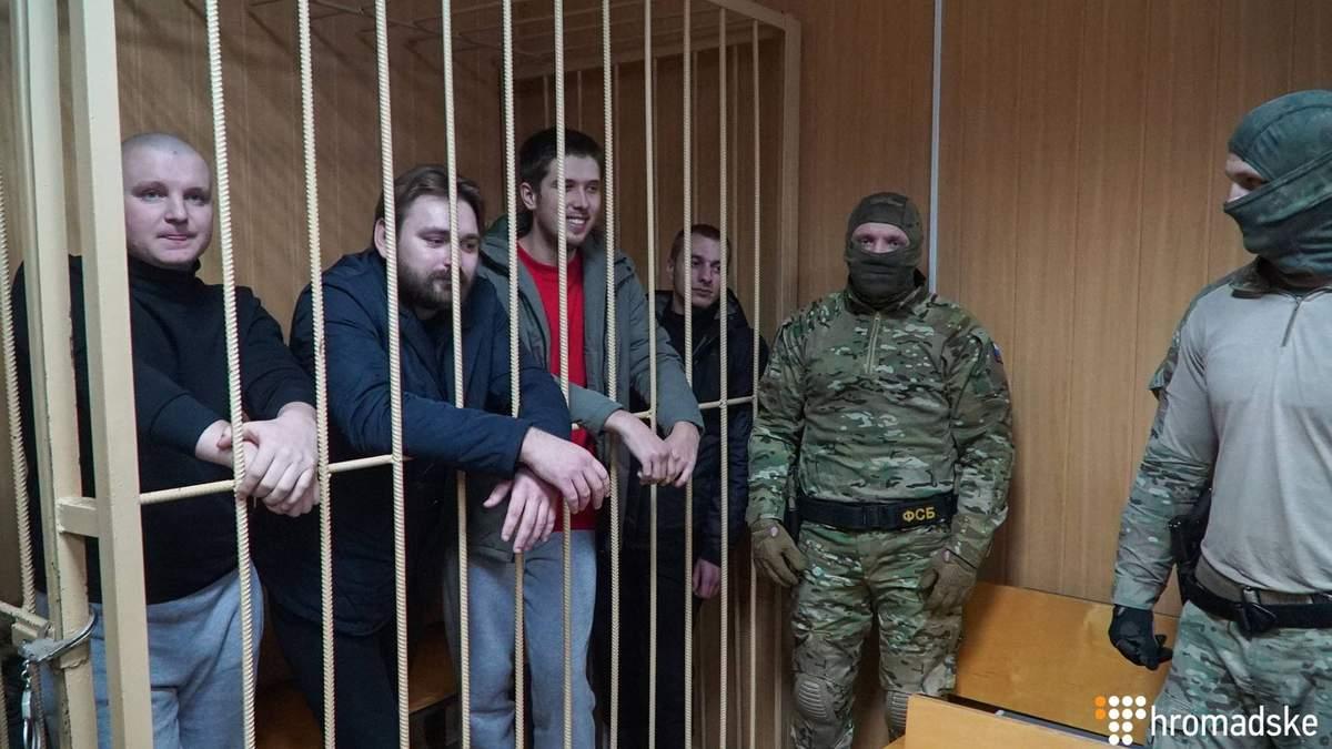 Адвокат озвучив три варіанти звільнення українських моряків з полону РФ