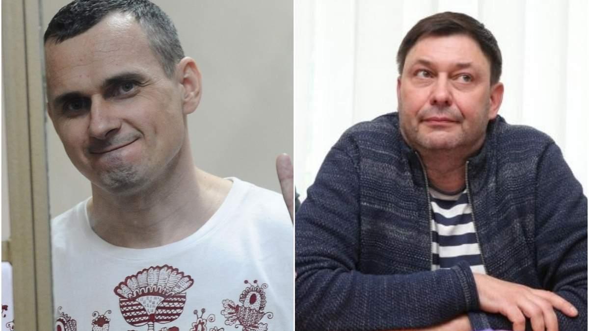 Обменять Вышинского на Сенцова: Украина выдвинула встречное предложение России